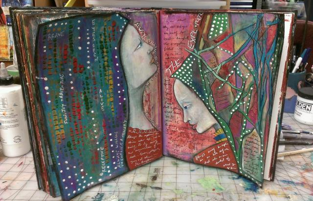 Art Journaling Explorations